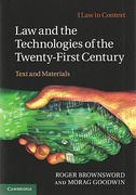 Cover of Law in Context: Law and the Technologies of the Twenty-First Century: Text and Materials