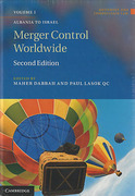 Cover of Merger Control Worldwide