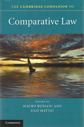 Cover of The Cambridge Companion to Comparative Law