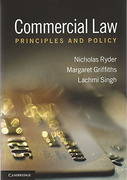 Cover of Commercial Law: Principles and Policy