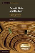 Cover of Genetic Data and the Law: A Critical Perspective on Privacy Protection