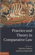 Cover of Practice and Theory in Comparative Law