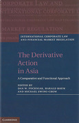 Cover of The Derivative Action in Asia: A Comparative and Functional Approach