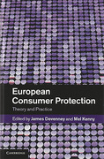 Cover of European Consumer Protection: Theory and Practice
