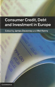Cover of Consumer Credit, Debt and Investment in Europe