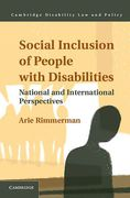 Cover of Social Inclusion of People with Disabilities: National and International Perspectives