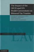 Cover of The Impact of the OECD and UN Model Conventions on Bilateral Tax Treaties