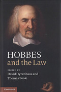 Cover of Hobbes and the Law