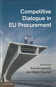 Cover of Competitive Dialogue in EU Procurement