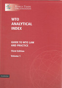 Cover of WTO Analytical Index: Guide to WTO Law and Practice