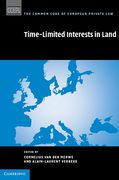 Cover of Time Limited Interests in Land