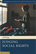 Cover of Judging Social Rights