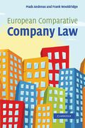 Cover of European Comparative Company Law