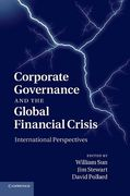 Cover of Corporate Governance and the Global Financial Crisis: International Perspectives