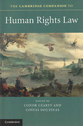 Cover of The Cambridge Companion to Human Rights Law