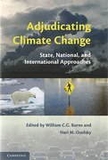 Cover of Adjudicating Climate Change: State, National, and International Approaches