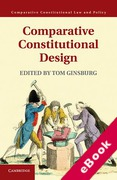 Cover of Comparative Constitutional Design (eBook)
