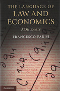 Cover of The Language of Law and Economics: A Dictionary