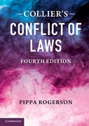 Cover of Collier's Conflict of Laws