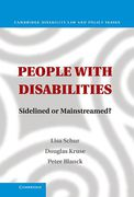 Cover of People With Disabilities: Sidelined or Mainstreamed?