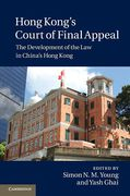 Cover of Hong Kong's Court of Final Appeal: The Development of the Law in China's Hong Kong