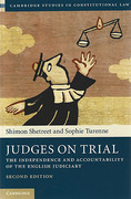 Cover of Judges on Trial: A Study of the Appointment and Accountability of the English Judiciary