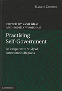 Cover of Practising Self-Government: A Comparative Study of Autonomous Regions