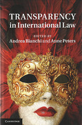 Cover of Transparency in International Law