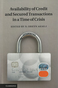Cover of Availability of Credit and Secured Transactions in a Time of Crisis