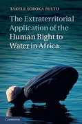 Cover of The Extraterritorial Application of the Human Right to Water in Africa