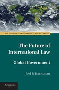Cover of The Future of International Law: Global Governance