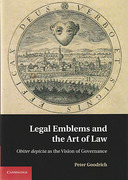 Cover of Legal Emblems and the Art of Law: Obiter Depicta and the Vision of Governance
