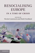 Cover of Resocialising Europe in a Time of Crisis
