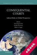 Cover of Consequential Courts: Judicial Roles in Global Perspective (eBook)