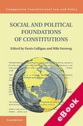 Cover of Social and Political Foundations of Constitutions  (eBook)