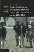 Cover of State Control over Private Military and Security Companies in Armed Conflict