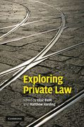 Cover of Exploring Private Law