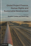 Cover of Global Project Finance, Human Rights and Sustainable Development