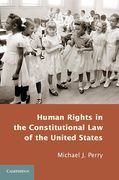 Cover of Human Rights in the Constitutional Law of the United States