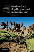 Cover of Transition from Illegal Regimes under International Law