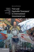 Cover of 'Fair and Equitable Treatment' in International Investment Law