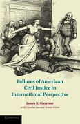 Cover of Failures of American Civil Justice in International Perspective