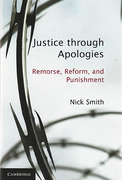 Cover of Justice Through Apologies: Remorse, Reform, and Punishment