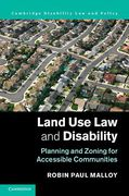 Cover of Land Use Law and Disability: Planning and Zoning for Accessible Communities
