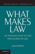 Cover of What Makes Law: An Introduction to the Philosophy of Law