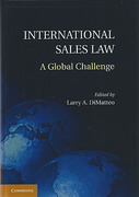 Cover of International Sales Law: A Global Challenge