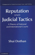 Cover of Reputation and Judicial Tactics: A Theory of National and International Courts
