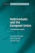 Cover of Referendums and the European Union: A Comparative Enquiry