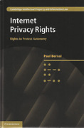 Cover of Internet Privacy Rights: Rights to Protect Autonomy