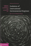 Cover of Evolution of International Environmental Regimes: The Case of Climate Change